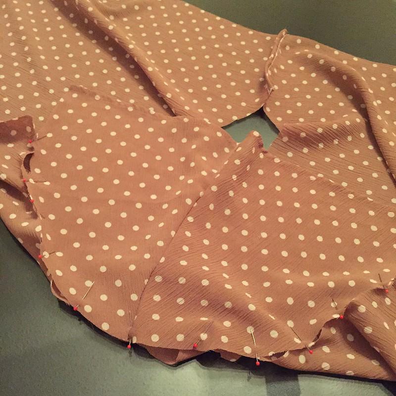 UGLY Skirt Challenge - In Progress 2