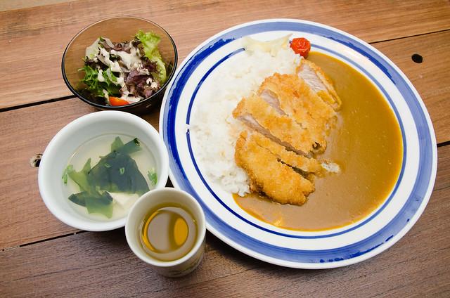 Shokudo Japanese Curry Deep Fried Pork Rice at Taman Paramount, Seapark, Petaling Jaya