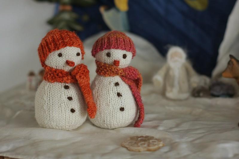 friendship snowmen