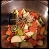 #homemade sautéed #zucchini #carrots #garlic #CucinaDelloZio - toss w/ olive oil, s,p & white #balsamic