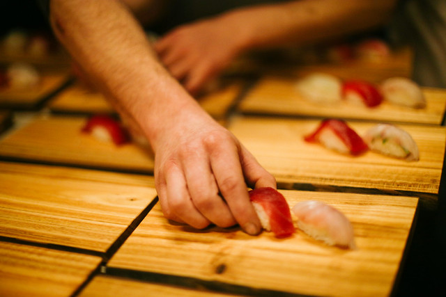 Sushi and Cider pairing Dinner