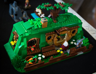 Brickvention 2015 - The Hobbit Burrows
