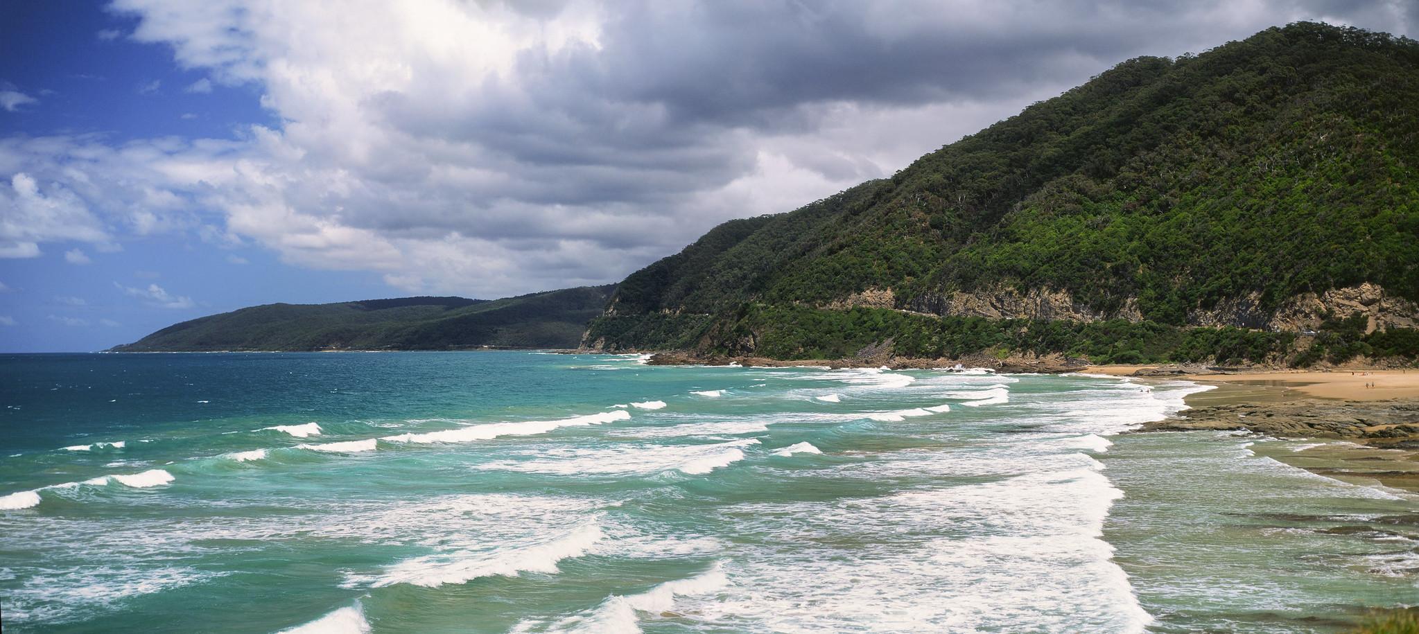 Great Ocean Road Film Panorama
