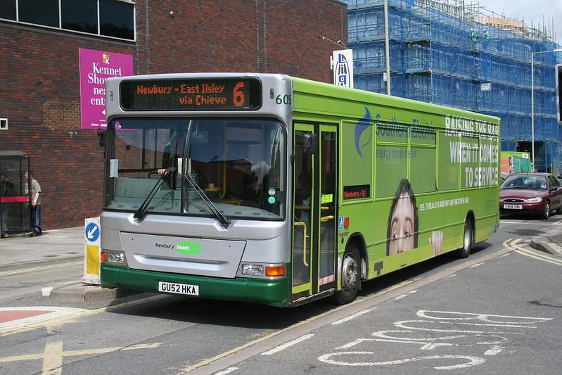 Newbury Buses GU52HKA