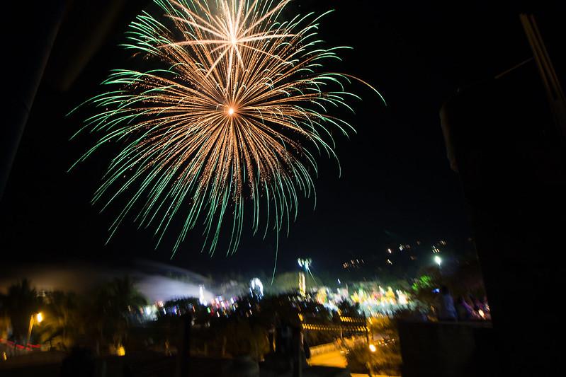 fireworks, Sayulita, Mexico