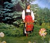 popular art and costumes in Romania