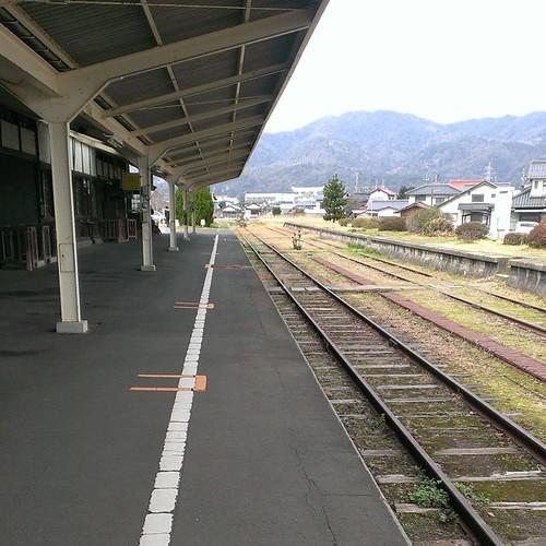 旧大社駅!