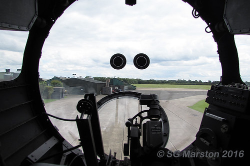 Avro Lancaster B VII Bomb Aimer's Position