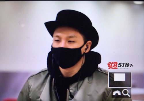 Big Bang - Gimpo Airport - 27feb2015 - Tae Yang - YB 518 - 01
