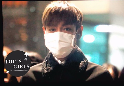 TOP Arrival Seoul from Tokyo 2015-111-03 (1)