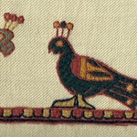Two Motifs from the Bayeaux Tapestry, by Stamford Bridge Tapestry Project