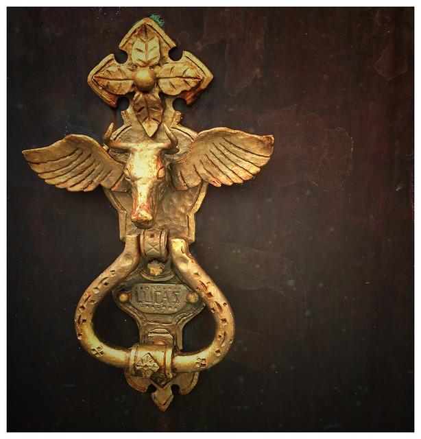Door knob, St Lucas