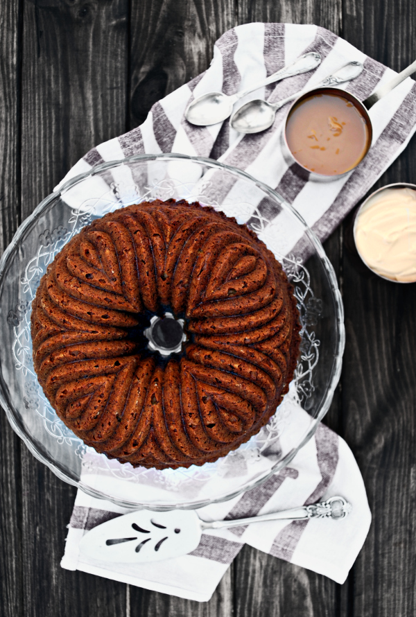 banoffee, bundt cake, plátano, dulce de leche, National Bundt Day