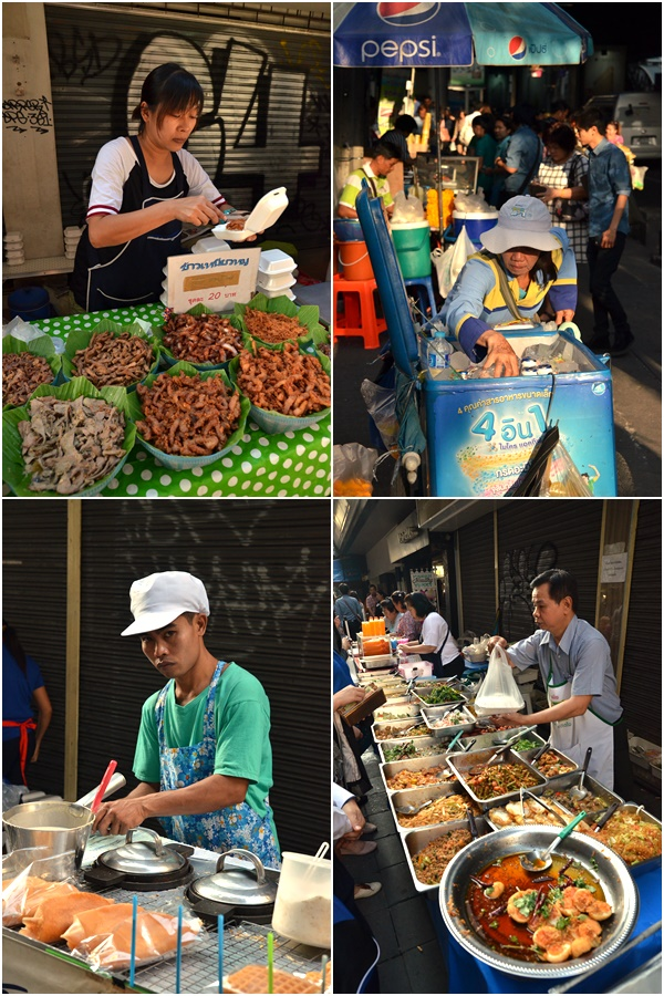 Sukhumvit Road Morning Hawkers