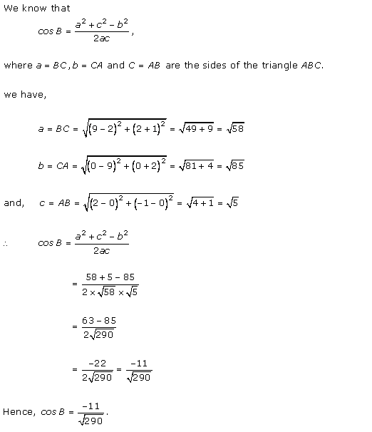 RD-Sharma-class-11-Solutions-Chapter-22-Brief-review-of-cartesian-system-of-rectangular-coordinates-Ex-22.1-Q-2