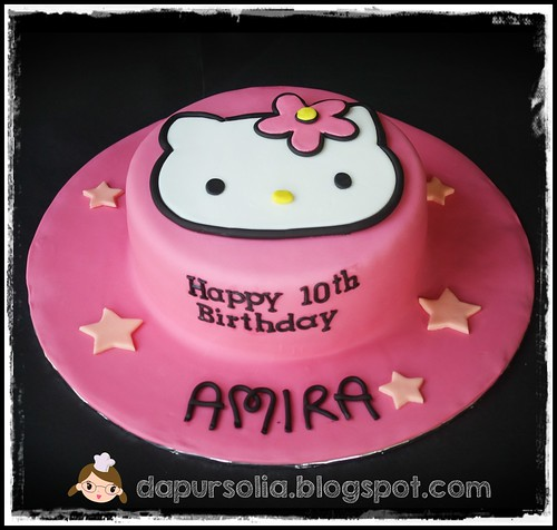 Hello Kitty Cake for Amira