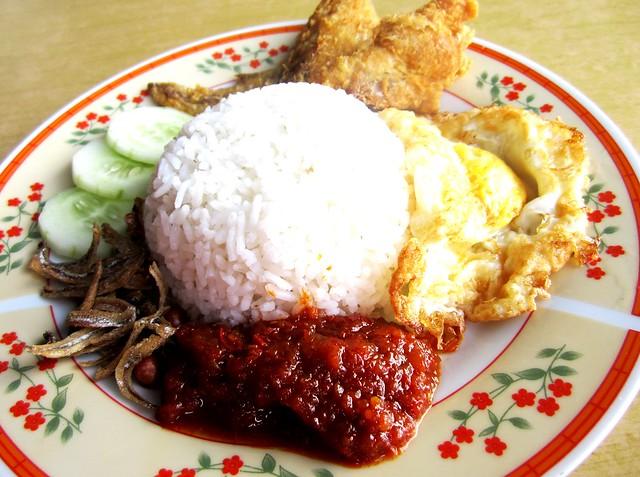 Nasi lemak 2