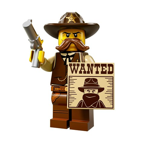 71008 Collectable Minifigures Series 13 Sheriff