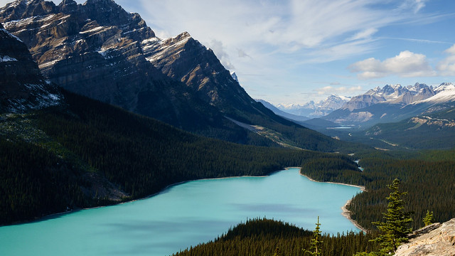 Peyto Lake - - Thoughts on the Post Processing? [3840x2160]