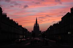 Sunset on Melville