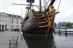 Amsterdam's Lion Figurehead and beakhead