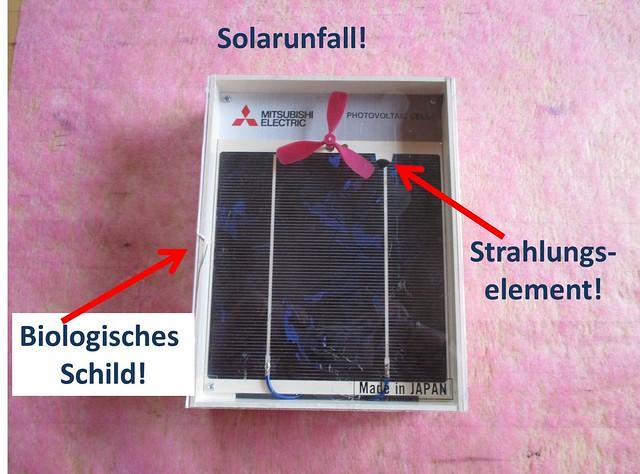 Solarunfall Satellitenbild