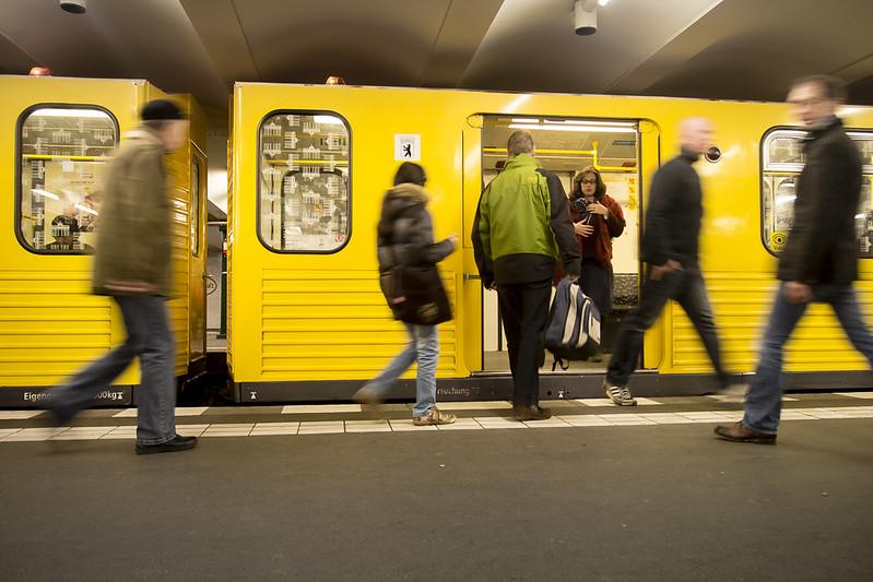 Berlin U-Bahn Underground - Metro in Berlin