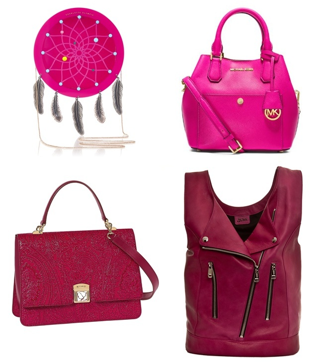4 bags pink