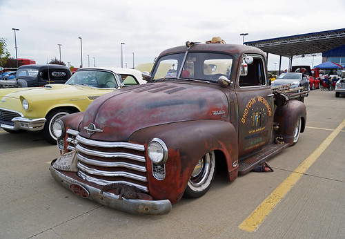 1950 Chevrolet 3100 Half-Ton Pickup Rat Rod (1 of 2)