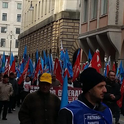 #scioperogeneralepadova  #scioperogenerale  #padova #12dicembre2014