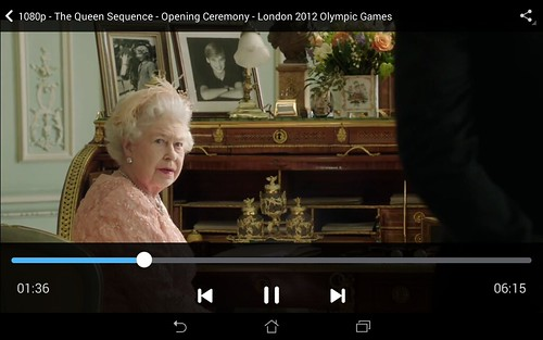 ดูวิดีโอ 1080p บน ASUS fonepad 8