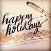 Wishing you and yours a joy-filled and memorable holiday season, in whatever shape or form you choose to celebrate it and wherever it finds you.  Thank you for blessing my life with your love, friendship, laughter and wisdom or for simply having been ther