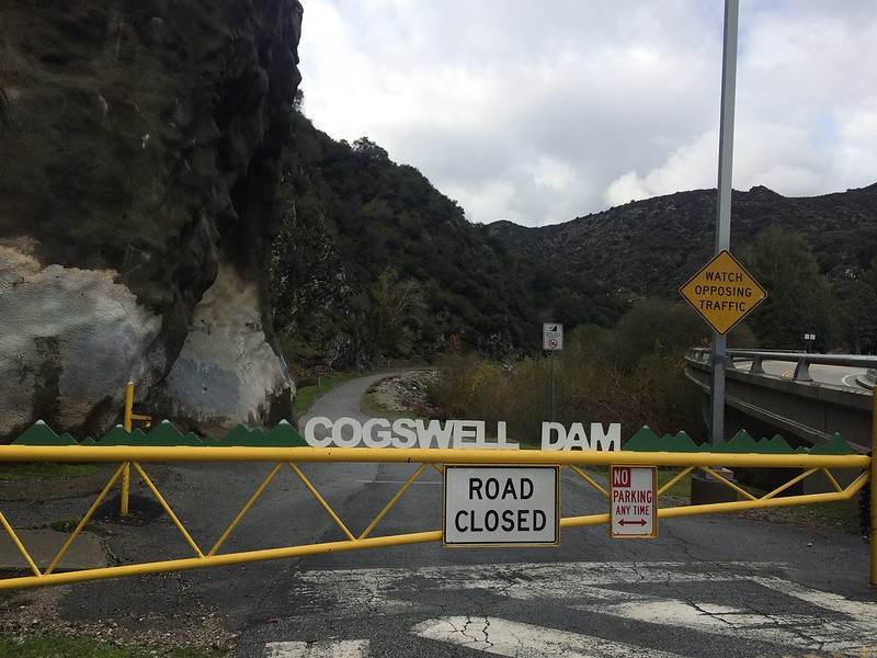 Cogswell Dam Gate