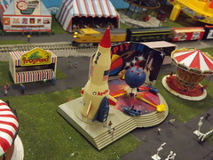 Scale Model Trains, Scale Model Carnival, Greenberg's Train and Toy Show, Edison, New Jersey