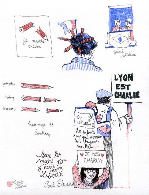 JeSuisCharlie - Symboles - Emily Nudd-Mitchell