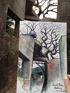 Ruins and Trees