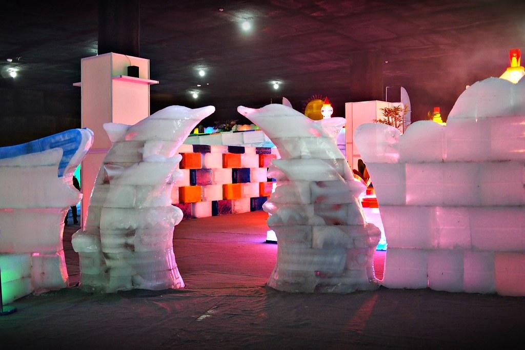 台中高鐵-2015正宗哈爾濱冰冰燈冰雕展-40