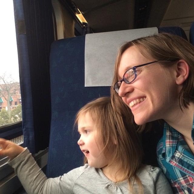 Trains are fun! #winterbreak2014
