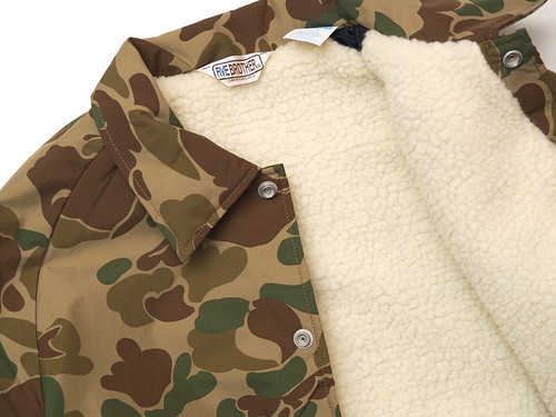 Five Brother / Hunter Camo Coach Jacket