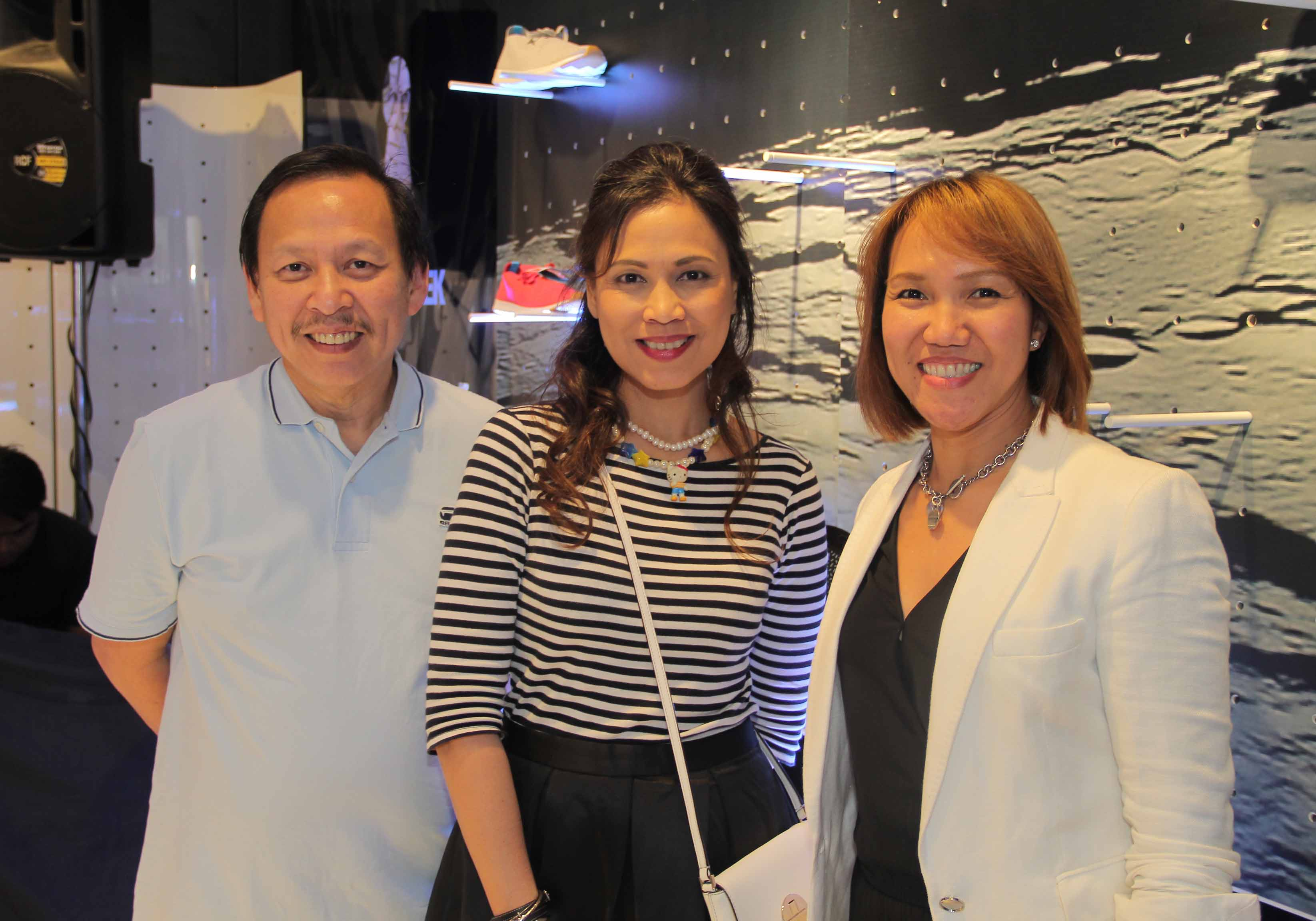 Primer's Managing Director Johnny Thai, MB Style Weekend's EIC Liza Ilarde, &Primer's AVP & Regional Brand Management Leslie Santos