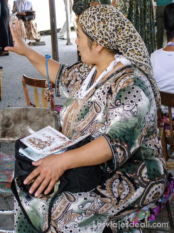 valle de fergana mercado de las joyas de Osh
