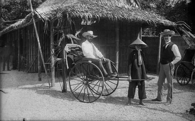 Đấu xảo Quốc tế Paris 1889 - Xe kéo tay của người Annam