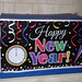 New Year Sign on house