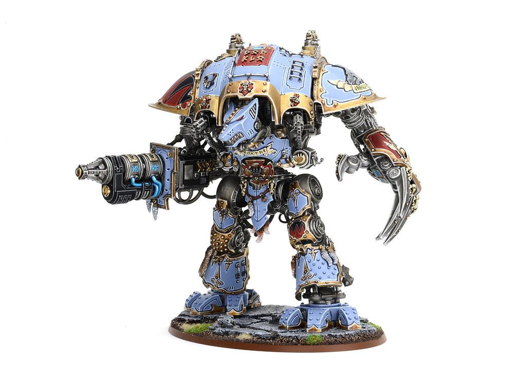 Iron Werewolf, Custom Space Wolf Knight