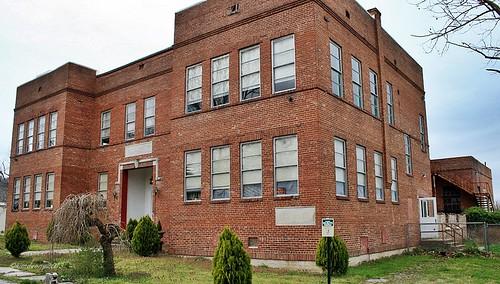 old school brick geotagged tennessee petersburg historic morgan morganschool