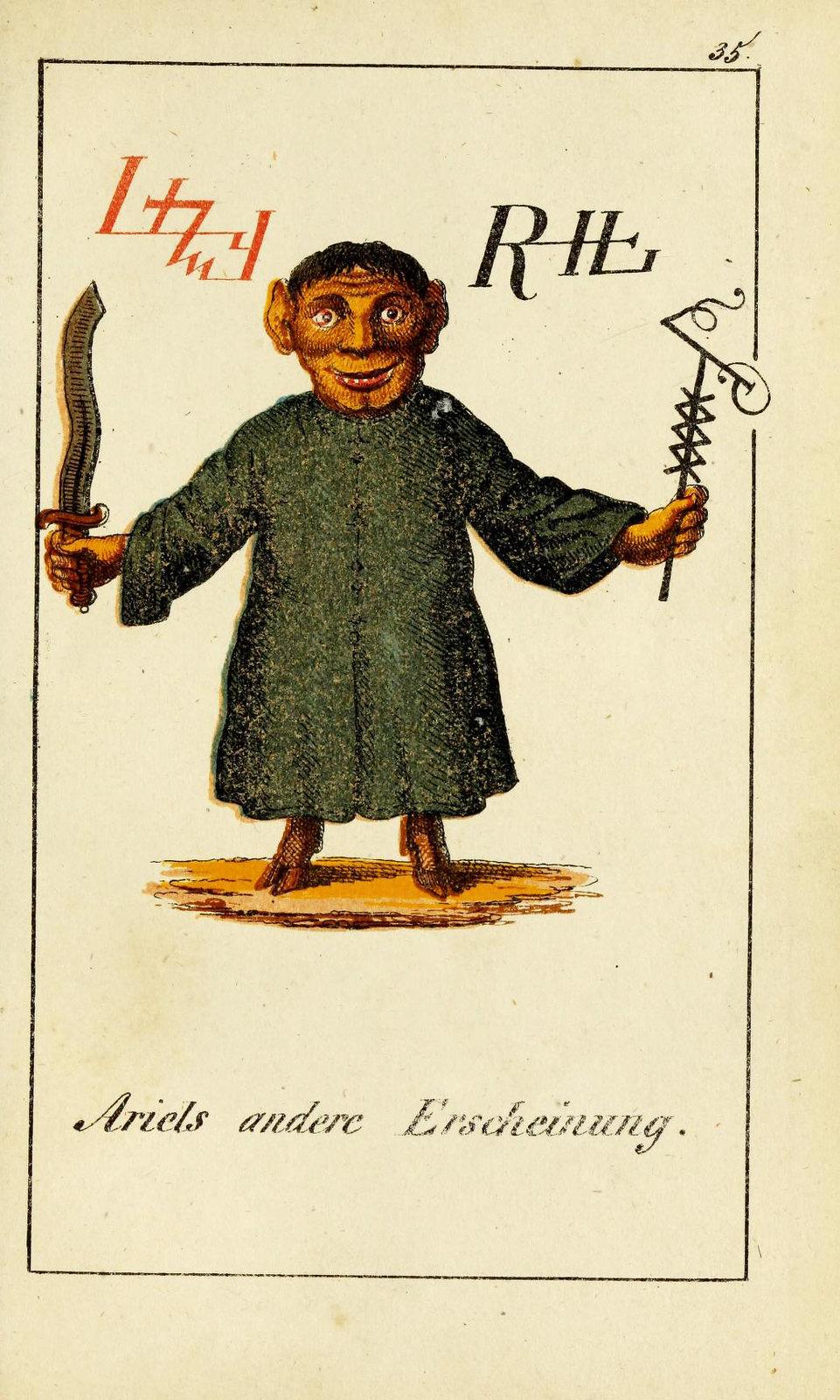 Johann Scheible - Doktor Johannes Faust's Magia naturalis et innaturalis, 1849 (6)