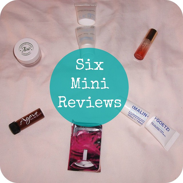 Six Mini Beauty Reviews 11