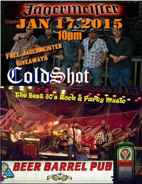 ColdShot 1-17-15 10pm