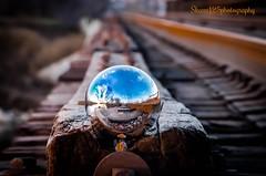 magical ball reflection