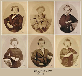 Cabinet Cards--Family